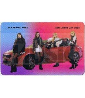 BLACKPINK - Carte transparente BAND (BLACKPINK 2019 WORLD TOUR BY KIA)
