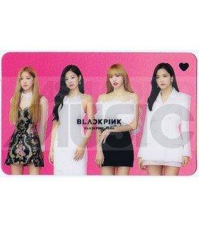BLACKPINK - Carte transparente BAND (2019 GOLDEN DISC AWARDS)