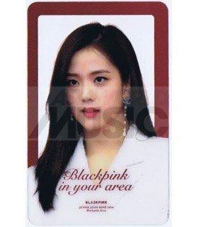 BLACKPINK - Carte transparente JISOO (2019 GOLDEN DISC AWARDS)