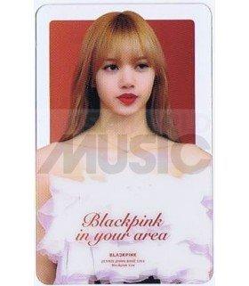 BLACKPINK - Carte transparente LISA (2019 GOLDEN DISC AWARDS)