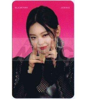 BLACKPINK - Carte transparente JENNIE (2018 SBS GAYO DAEJUN)