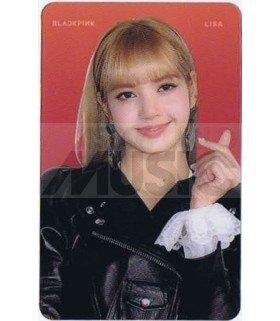 BLACKPINK - Carte transparente LISA (2018 SBS GAYO DAEJUN)