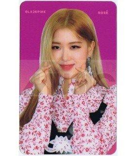 BLACKPINK - Carte transparente ROSE (2018 SBS GAYO DAEJUN)