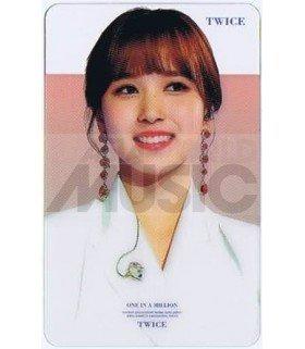 TWICE - Carte transparente MINA (2019 GOLDEN DISC AWARDS)