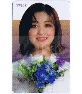 TWICE - Carte transparente JIHYO (2019 GOLDEN DISC AWARDS)
