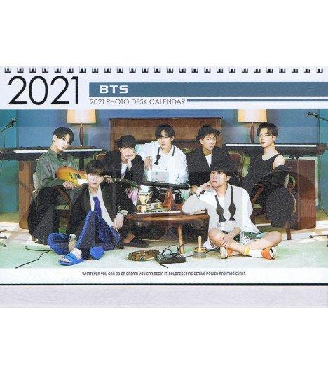 Calendrier Bts 2022 BTS   Calendrier de bureau 2021 / 2022   ASIAWORLDMUSIC.FR   MUSICA