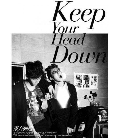 Dong Bang Shin Ki - Keep Your Head Down (Version Spéciale) (édition limitée First Press) + Poster