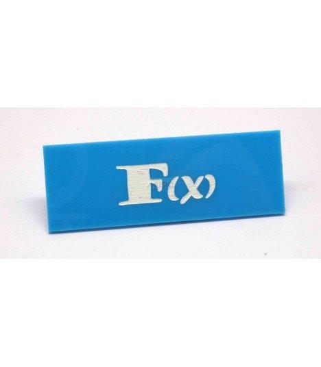 Badge Nominatif F(X) 001