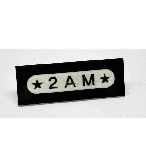Badge Nominatif 2AM 001