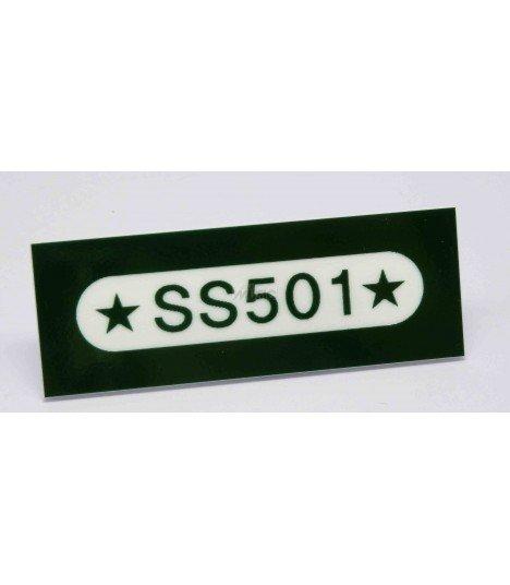 Badge Nominatif SS501 001