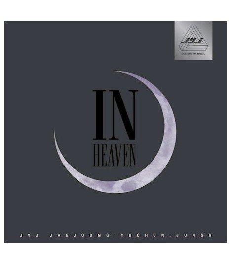JYJ - In Heaven (version BLACK) (édition coréenne) (Poster offert en pré-commande)