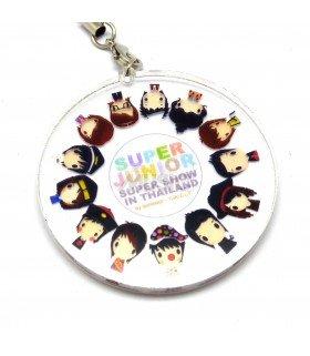 Strap en acrylique Super Junior (Super Show) 001
