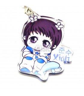 Strap en acrylique TVXQ (Xiah) 005