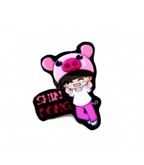 Badge K-Design Super Junior (ShinDong) 001