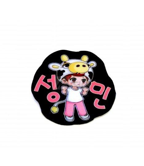 Badge K-Design Super Junior (SungMin) 004