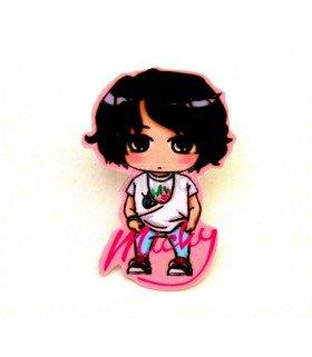 Badge K-Design TVXQ (Micky) 005