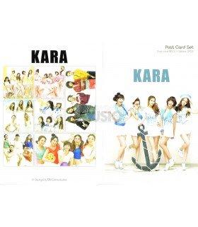 KARA - Post Card Set (8 postcards +  3 stickers)