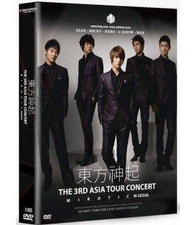 "Dong Bang Shin Ki - The 3rd Asia Tour Concert ""Mirotic"" in Seoul (édition 3DVD)"