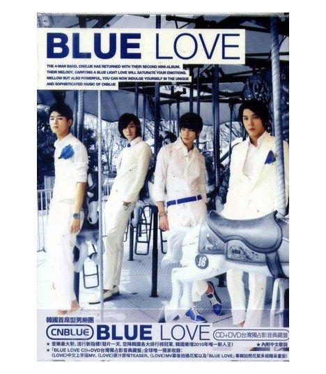 CNBLUE 2nd Mini Album - Bluelove (CD+DVD) (édition Asia)