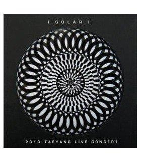 Tae Yang - 2010 Tae Yang Solar Concert (2DVD+CD+Poster) (édition limitée coréenne)