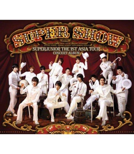 Super Junior - The 1st Asia Tour Concert Album - Super Show (2CD)