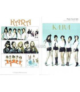 KARA - Post Card Set (8 postcards +  3 stickers) 002