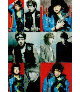 Super Junior Mr.Simple - Autocollant 10x15 (Shindong)