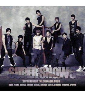 Super Junior - The 3rd Asia Tour: Super Show 3 Concert Album (2CD) (édition coréenne) + Poster Offert
