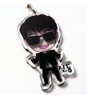 Strap en acrylique Super Junior (Shindong) 004