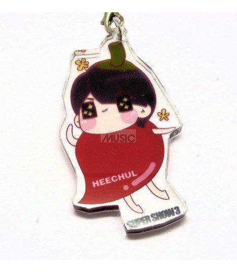 Strap en acrylique Super Junior (Heechul) 011