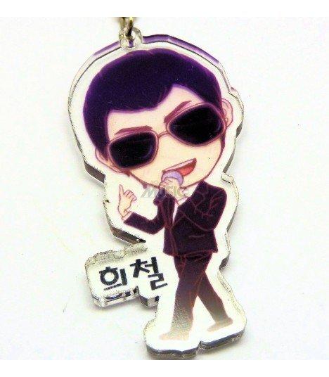Strap en acrylique Super Junior (Heechul) 012