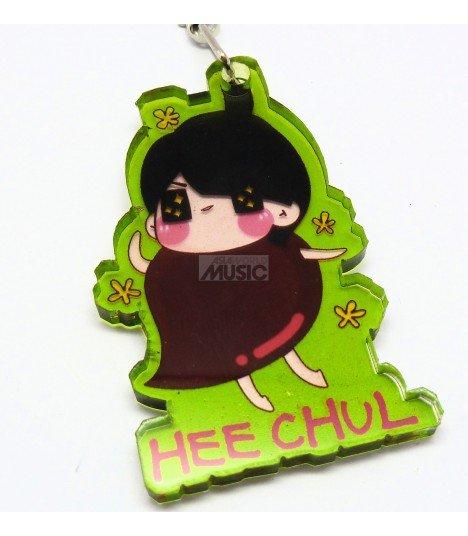 Strap en acrylique Super Junior (Heechul) 014