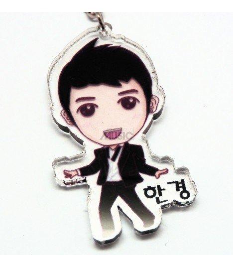 Strap en acrylique Super Junior (Hangeng) 002