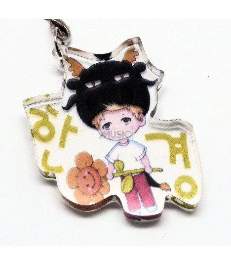 Strap en acrylique Super Junior (Hangeng) 005