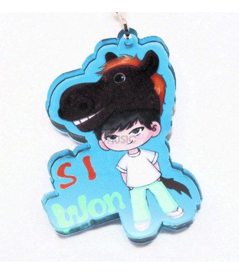 Strap en acrylique Super Junior (Siwon) 001