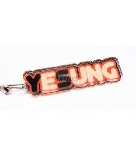 Strap en acrylique Super Junior (Yesung) 001